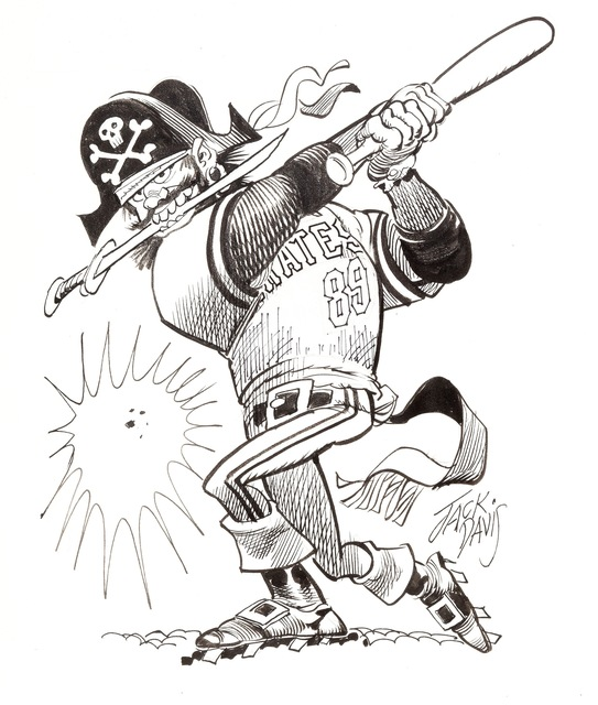 Jack Davis, 'Pittsburgh Pirates ', 1990, The Illustrated Gallery