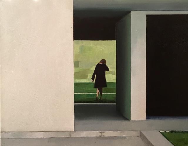 , 'Leaving Behind,' 2017, New York Academy of Art