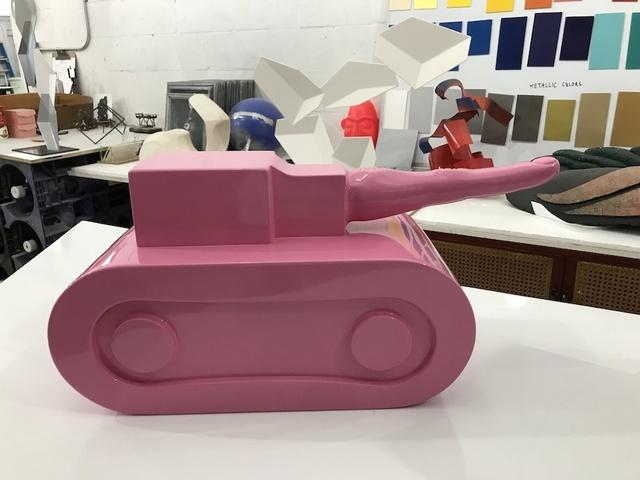 Simone D'Auria, 'Pink Un-Fuck You Unconventional Think Fuck Tank ', 2019, L'Atelier Ldep Concierge & Gallery