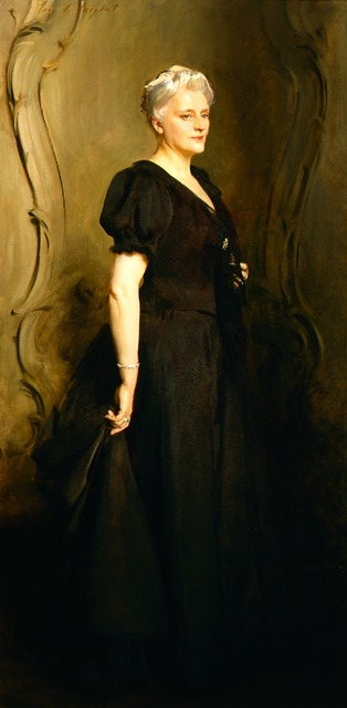 , 'Mrs. Frederick William Roller,' 1895, Frye Art Museum