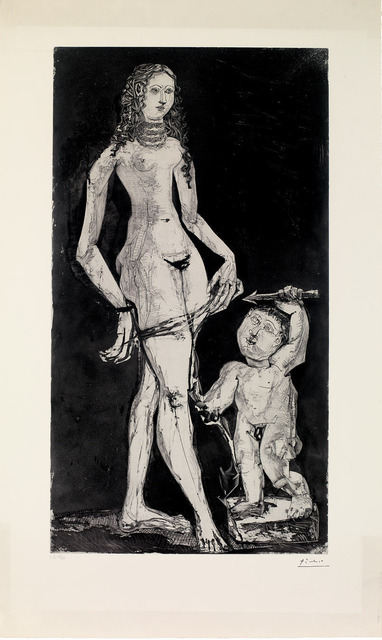 , 'Venus et l'amour,  d'après Cranach, c. May 30, 1949 and c. 1951,' 1951, Gagosian Gallery