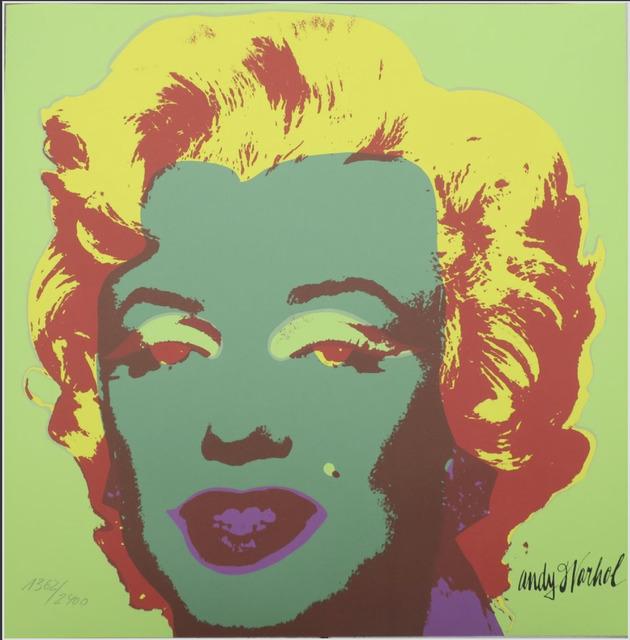 Andy Warhol, 'Marilyn Monroe', ca. 1986, Print, Lithograph, Lyons Gallery