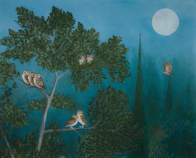 , 'A Parliament of Owls,' 2018, Jonathan Cooper