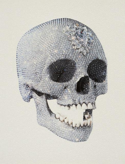 Damien Hirst, 'Love of God - white (skull 3/4 )', Eternity Gallery
