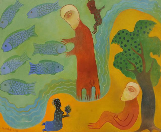 Manuel Mendive, 'Untitled ', 2000, Gary Nader
