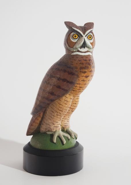, 'Great Horned Owl,' 2007, Valley House Gallery & Sculpture Garden