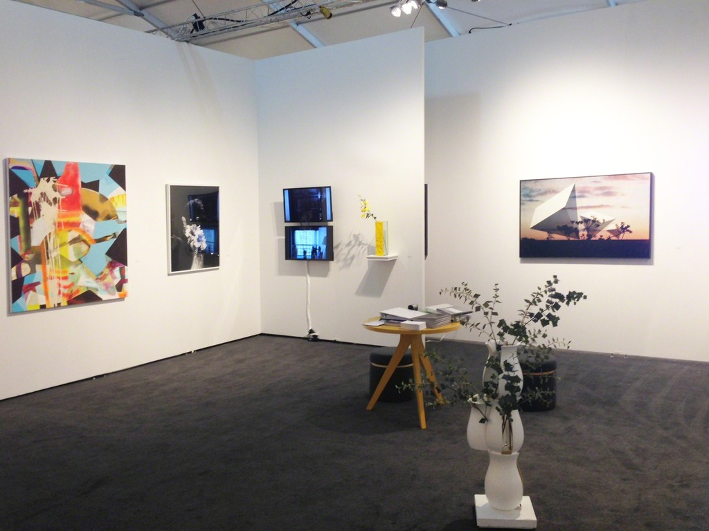 Installation view of Pulse Miami Beach, 2014