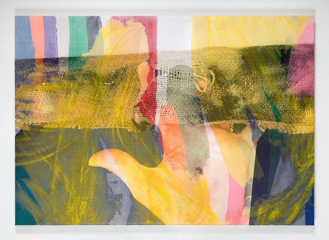 ", '""Manifold Painting (Pleasure Principals)"" ,' 2018, James Harris Gallery"
