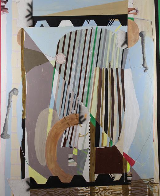, 'Metate estructura hueso,' 2017, Galería Karen Huber