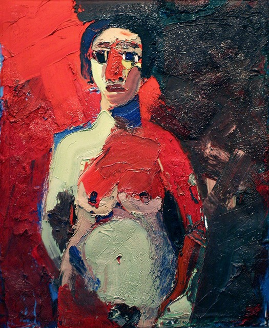 Joan Brown, 'Girl Standing (Girl with Red Nose)', 1962, di Rosa