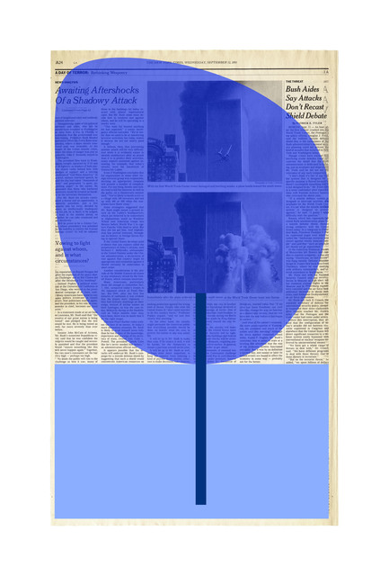 , 'Next Day Page A24,' 2015-2016, The FLAG Art Foundation
