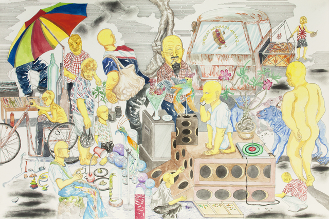 , 'Multiview of the Immuni System Market,' 2016, Richard Koh Fine Art