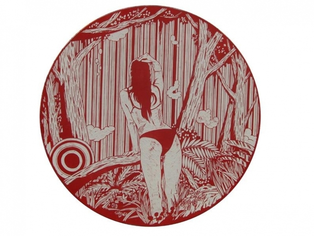 , 'Dreamy Gaze #4,' 2008, Mark Moore Fine Art
