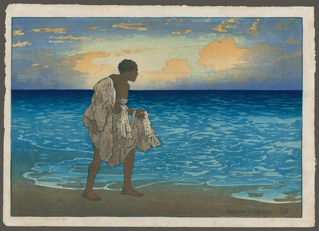 , 'Hawaiian Fisherman, John Hanohano,' 1919, The Art of Japan