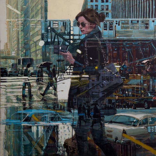 , 'Camuflaje #8,' 2018, NG Art Gallery