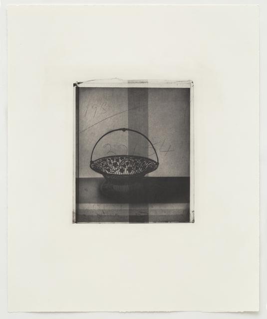 , 'Silver Basket,' 2015, Alan Cristea Gallery