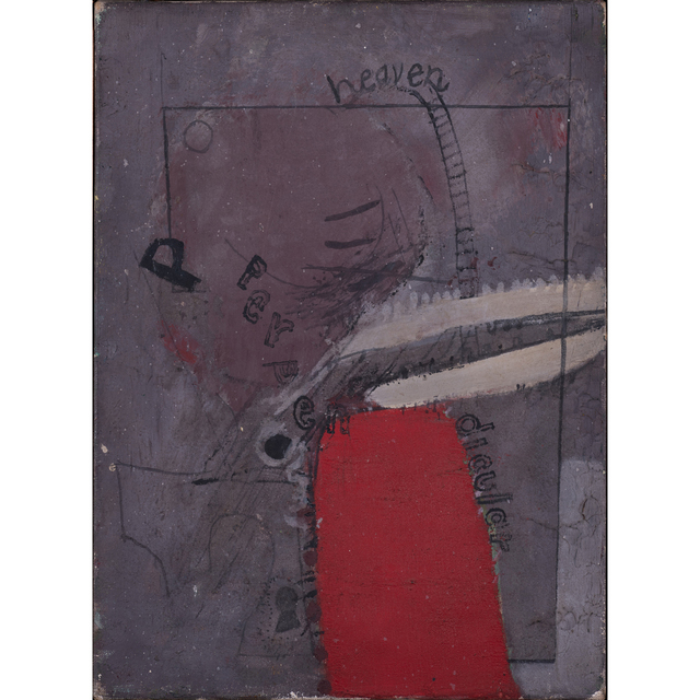 David Hockney, 'Heaven perpendicular', 1962, PIASA