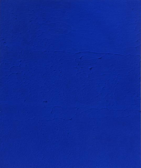 , 'Monochrome bleu,' 1959, Matteo Lampertico
