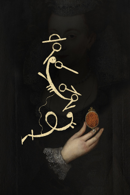 , 'The Calligraphy of Dance 7 A Keepsake c.1610,' 2014, Purdy Hicks Gallery