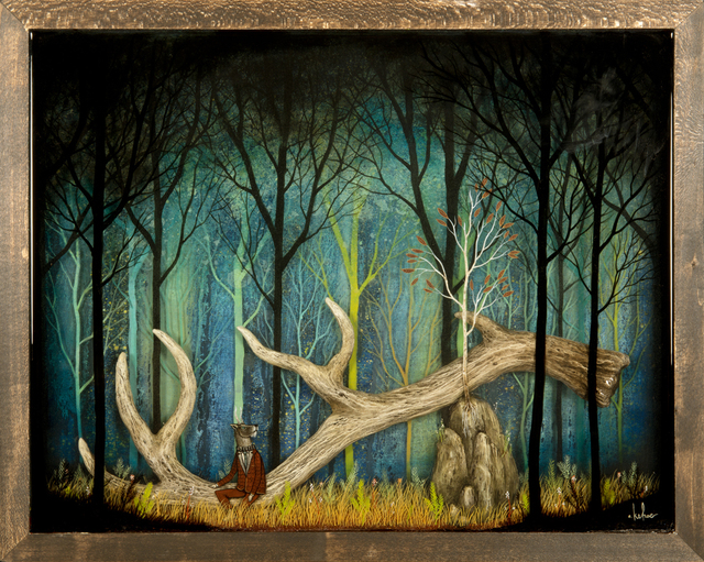 , 'Remanent of Myth,' 2013, Jonathan LeVine Projects