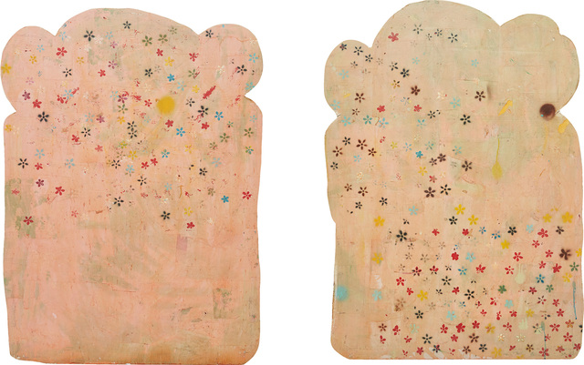 Brenna Youngblood, 'Two Works: (i) Flourless Bread Slice #1; (ii) Flourless Bread Slice #2', 2012, Phillips