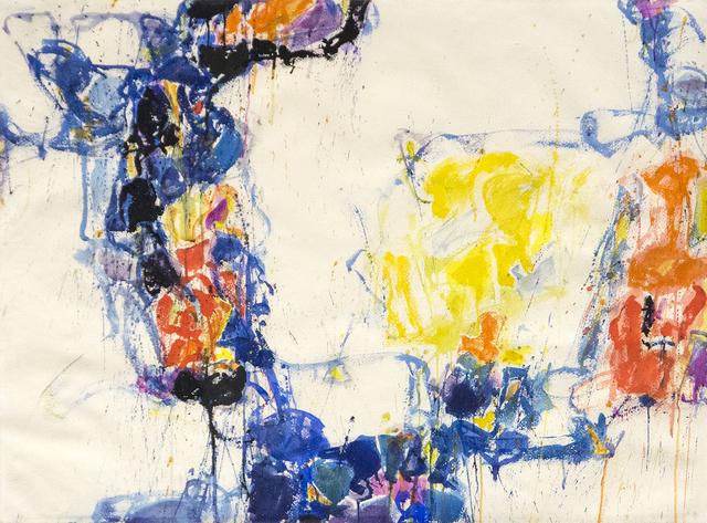 , 'Yellow, Blue & Orange,' 1956-1957, Heather James Fine Art