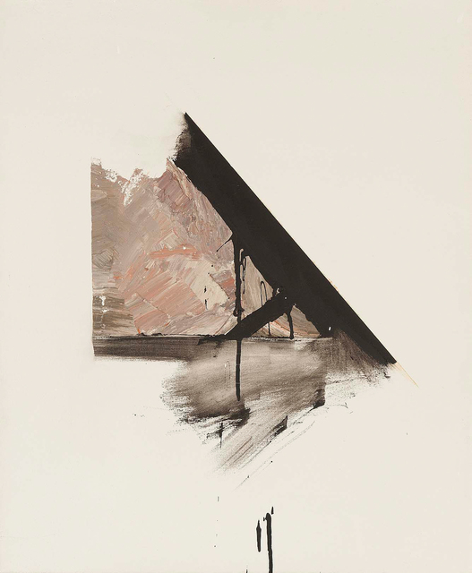 Jay DeFeo, 'Study for Verdict', 1982, Painting, Oil on canvas, Michael Rosenfeld Gallery