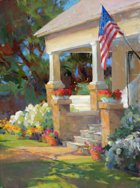 , 'Small Town Summer,' , Beverly McNeil Gallery