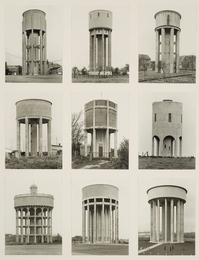 Bernd & Hilla Becher, 'Nine Water Towers,' , Sotheby's: Contemporary Art Day Auction