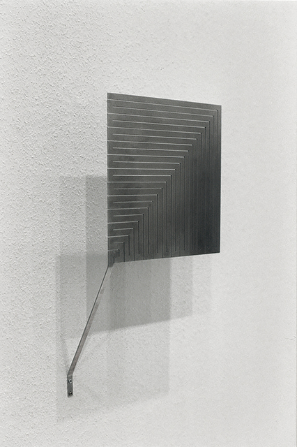 , 'Quadratschnitt übereck, vertikal (Wandversion),' 1996/2016, Hollis Taggart Galleries