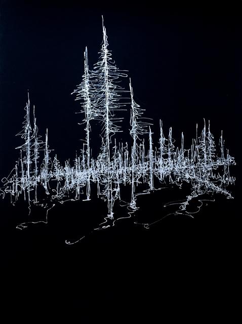 , 'Cinders/Trees, Oregon 3,' 2019, Marloe Gallery