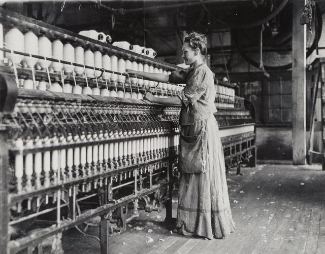 Lewis Wickes Hine, 'Woman in a Cotton Mill', circa 1910, Heritage Auctions