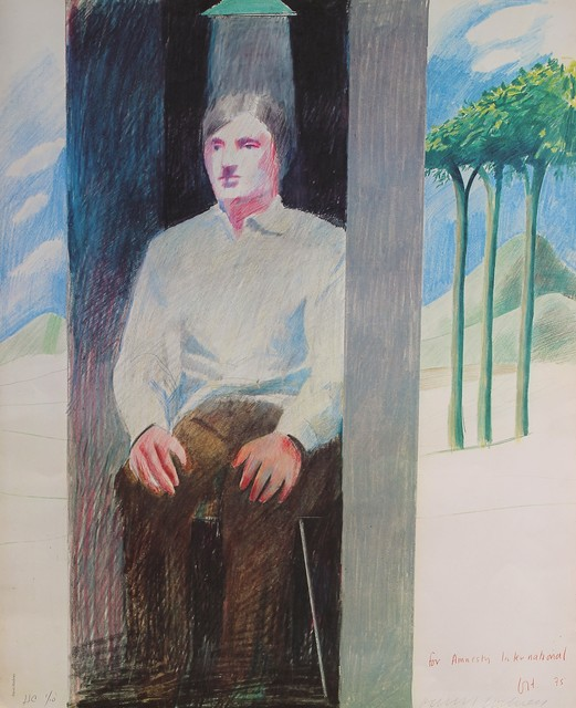 David Hockney, 'Prisoner', 1975, Castlegate House Gallery