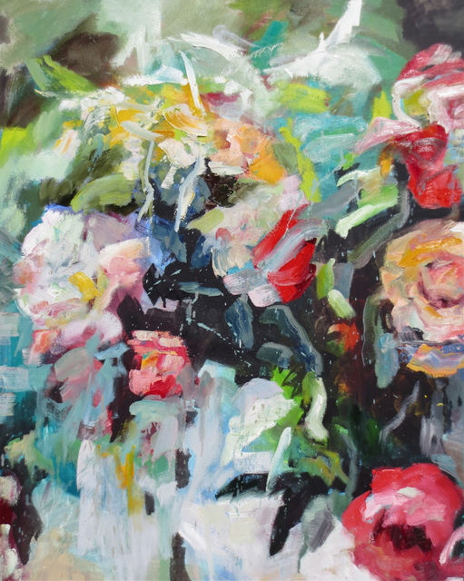 Kim Ford Kitz, 'Roses and Peonies', 2016, Seager Gray Gallery