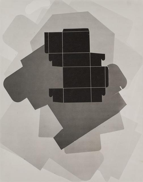, 'Untitled (Box template),' 1939, Robert Koch Gallery