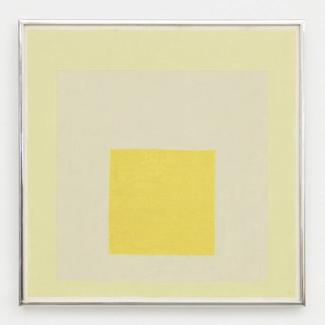 , 'Homage to the Square,' 1963, David Zwirner