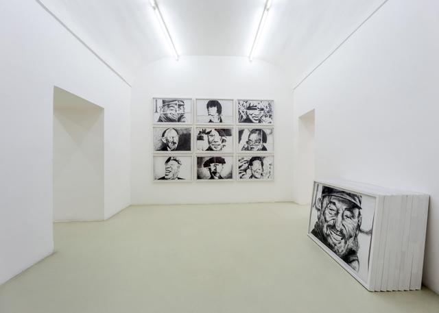 """, 'Nine smiling communists  """"Una risata e venti milioni di morti"""",' 2007, Umberto Di Marino"""