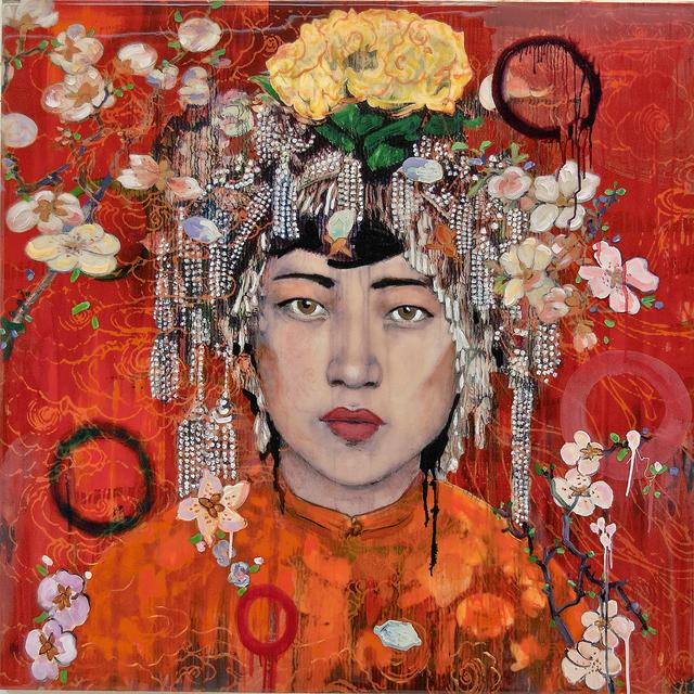 , 'Da Fan Che Red- Blossoms,' 2017, Diehl Gallery