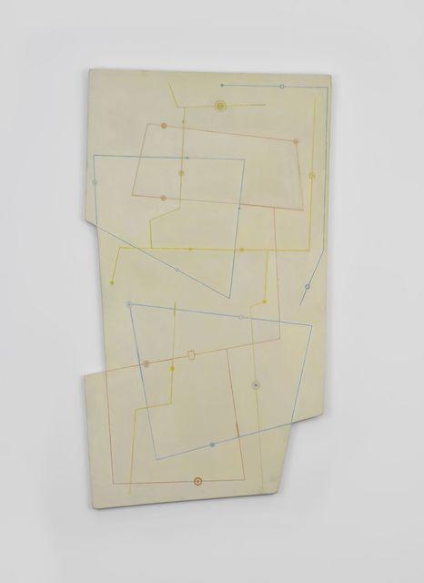, 'Lignes 1,' 1952, Galerie Mitterrand