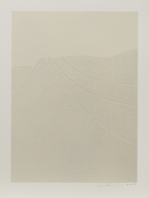 Ed Ruscha, 'Busted Glass #6', 2007, Phillips