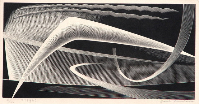 , 'Flight,' 1954, Catherine E. Burns Fine Prints