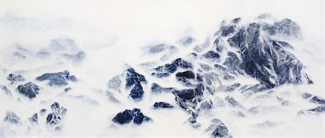 , 'Cyano-Collage 016,' 2017, Galerie du Monde