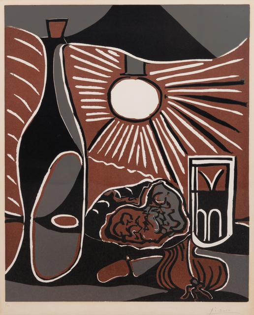 Pablo Picasso, 'Nature morte à la bouteille', 1962, Hindman