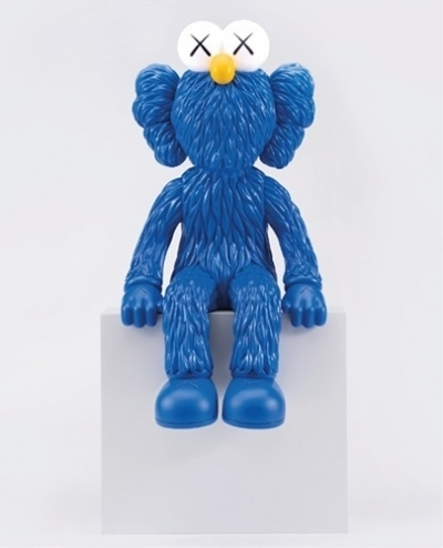 KAWS, 'Seeing', 2018, Sculpture, Alloy, ceramic, LED, mixed media, Vertu Fine Art