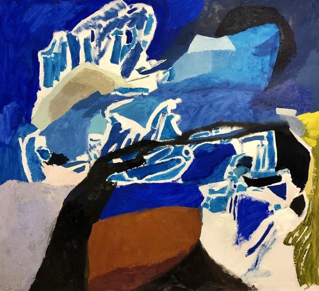 , 'Alaskan Blue,' 2019, Flow 305