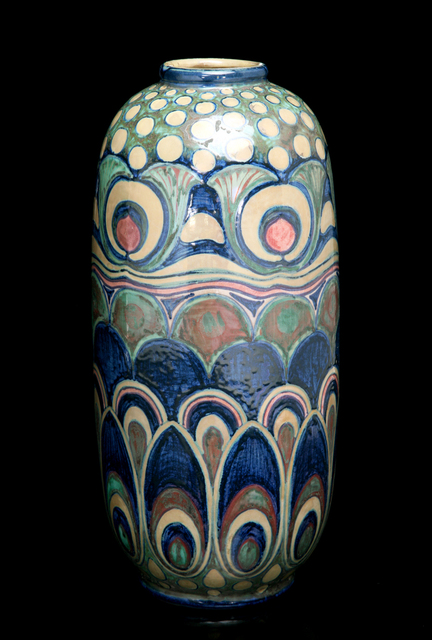 , 'Liberty Feathers and Blooms Vase,' ca. 1903, Jason Jacques Gallery