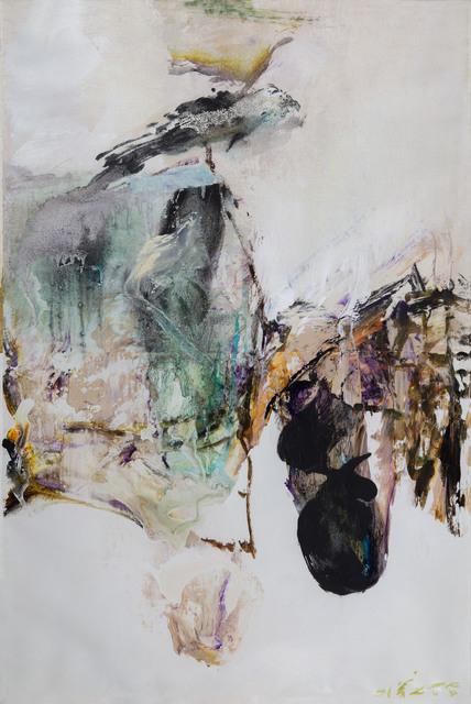, 'Oil/ Acrylic on Canvas Paper,' 2001, Longmen Art Projects