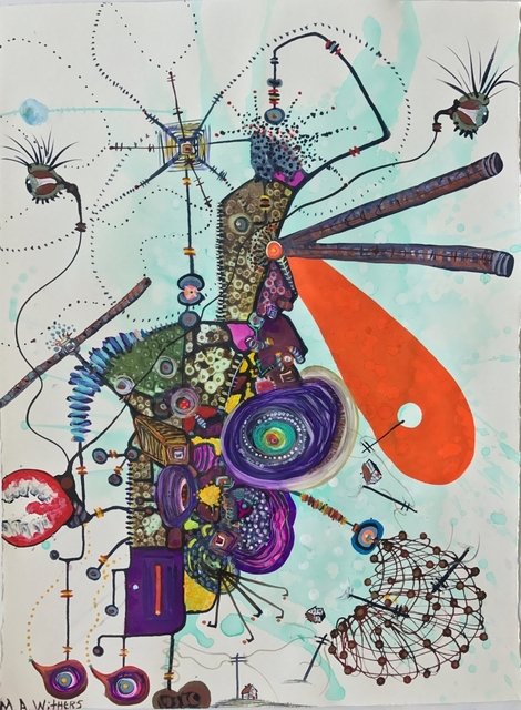 , 'Thin Thoughts of Annihilation,' , HUE Gallery of Contemporary Art
