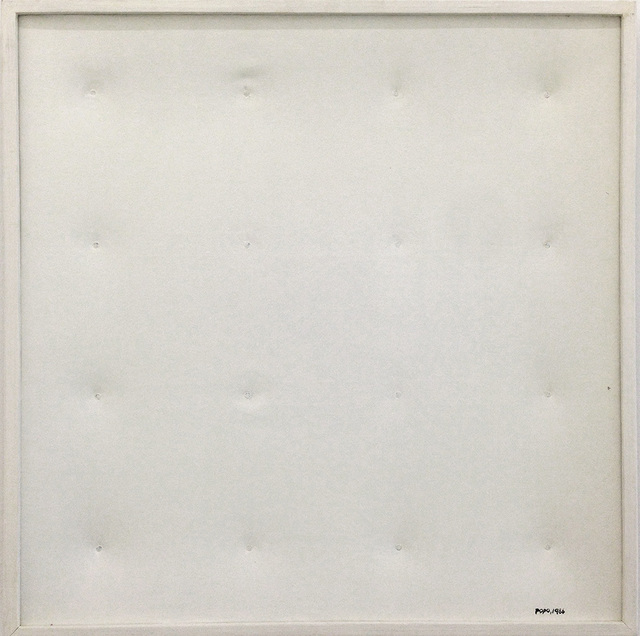 , 'Painting for the Blind #1,' 1986, Yavuz Gallery
