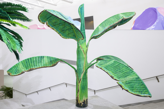 , 'Tropical Composition/Banana Tree No. 3,' 2008-2010, Sifang Art Museum